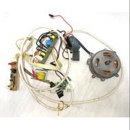 美國Frigidair 富及第 fdh-1203ya2 除濕機內部所有電路馬達零件,壓縮機壞掉拆賣