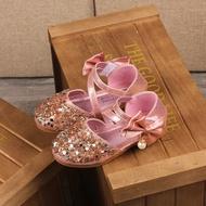 รองเท้าเด็กผู้หญิง รองเท้าคัชชูเด็ก รองเท้าออกงาน ประดับเพชร สวยหรู Sale ลดล้างสต๊อก