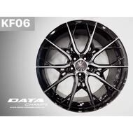 高雄人人 DATA KF06 19吋 20吋 旋壓鋁圈 5孔 5H 112 114.3 120 台灣製 詳細規格如說明