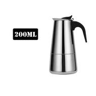 เครื่องทำกาแฟสแตนเลส,เครื่องทำกาแฟโมก้าหม้อต้มกาแฟเครื่องชงเอสเปรสโซเครื่องมือทำกาแฟลาเต้เตากรอง