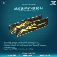 Apacer Panther Ddr4 16gb Kit 2666 2x8gb Pc Ram Memory 2666mhz
