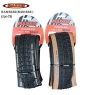 MAXXIS RAMBLER Tubeless Tire EXO TR 700 X38C/700CX40C/700X45C Bike Tire for Road Mountain Horse Road Cross Country Gravel and Dirt Road Bike