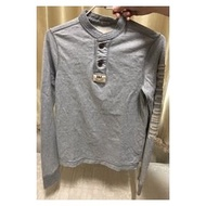 A&F Abercrombie n Fitch 男童 亨利領t XL