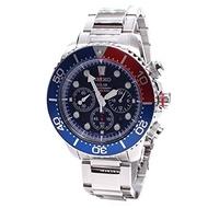 Seiko Watches Seiko Mens SSC019 Solar Diver Chronograph Watch