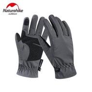 Naturehike GL-04 TOUCH ถุงมือขี่จักรยานกลางแจ้ง Wnter WARM ถุงมือขี่จักรยานกันลมถุงมือปีนเขา
