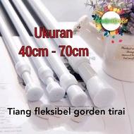Flexible Curtain Pole Curtain Pole Curtain Rod Curtain Rod 40-70