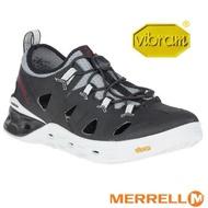 【美國 MERRELL】男新款 TIDERISER SIEVE 水陸兩棲健行登山涼鞋_ML84823 黑