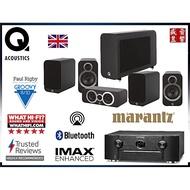 英國 Q Acoustics 3020i+3090Ci+3020i+Q3060S+SR6014 現貨可視聽