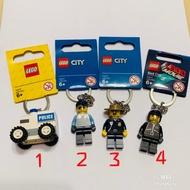 (bear)全新現貨 樂高 Lego key chain 警察 警車 森林警察 警察 樂高玩電影 巡邏車 鑰匙圈