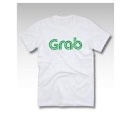 เสื้อยืด สีเขียว ลาย GRAB GREEN T SHIRT