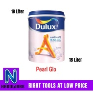 Dulux Ambiance Pearl Glo Interior Wall Paint / Cat Dalam Dinding Rumah 18L- 18 Liter
