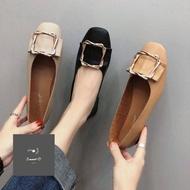 ร้านแนะนำรองเท้าผู้หญิง รองเท้าคัชชู รองเท้าหุ้มส้น แฟชั่นส้นแบน ส้นเตี้ยH22 สินค้ามากมายหลากหลาย