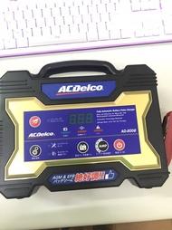 現貨 9.8成新 使用二次帶保固 德科 ACDelco AD-200212V15A汽機車電瓶脈衝式充電機 盒子有點舊