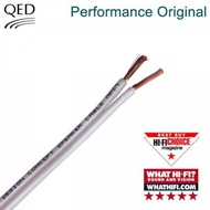 qed Original speaker cables made in UK 10m