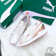 免運🚗-DTK-實體店面🎖 Puma Muse X-2  白粉 米白 粉金 玫瑰金 女款 休閒鞋