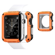 Protector Cover For Apple Watch 6 SE Case 44mm 40mm 42mm 38mm PC Case For i watch 6 5 4 3 2 Anti-fall Frame Shell Accessories