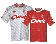 ⚽️ 1989/91 Retro Liverpool Home and Away Football Jersey