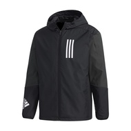 adidas 外套 Originals SPRT US Windbreaker 黑 白 男款 風衣【ACS】GF4023