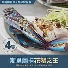 【優鮮配】頂級鄂霍次克海生凍鱈場蟹腳(900-1000g/半對)免運組