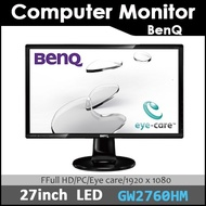 [BenQ]BenQ 27inch Computer Monitor GW2760HS/LED Monitor /LED Monitor/PC/Eye Care