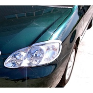 【JR佳睿精品】9代 Toyota Altis 01-05年 鍍鉻鍍鉻大燈框 頭燈框 改裝 精品 配件 台灣製