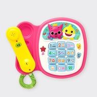 Pinkfong 碰碰狐 韓國原裝電話唱歌組 聲光音樂仿真電話教育玩具遊戲組 Baby Shark鯊魚寶寶家族玩具禮物