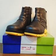 【饅】原價1380 特價1100 日本母子鱷魚🐊 工作安全鞋 高筒/牛皮/鋼頭鞋/工作鞋/前置鋼板/防穿刺