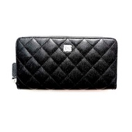 CHANEL ZIPPY WALLET BLACK CAVIAR SHW