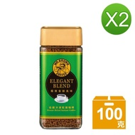 【伯朗咖啡-買1送1】極緻香醇即溶黑咖啡(100g/瓶*2)