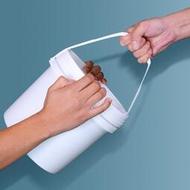 拾光*包裝桶食品級果醬餡料桶加厚帶蓋油墨桶涂料桶塑膠桶機油桶20L升#桶#罐(7-10天收到
