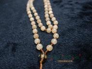 白法水晶礦石城 蜜糖黃玉 6mm 色彩艷麗 礦質色澤 特級品 項鍊 飾材料