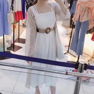 W正韓服飾 夏天必備雪紡罩衫