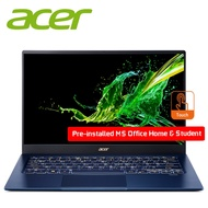 "Acer Swift 5 SF514-54T-70AA 14"" FHD IPS Touch Laptop Charcoal Blue ( I7-1065G7,"