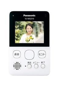 日本公司貨 國際牌 Panasonic VL-SGD10L 無線視訊門鈴 2.7吋螢幕 對講機 可錄音 居家安全 LED照明 30萬畫素 日本必買代購