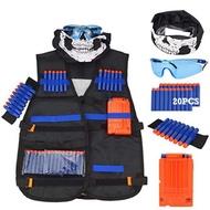 6pcs Nerf Gun Toy Accessories Tactical Waistcoat Target Children Nerf Gun Target For Nerf Gun Toy