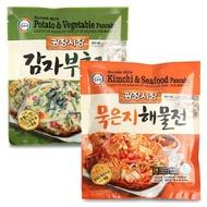 Korean Pancake / Kimchi Seafood Potato Vegetable Pancake Frozen Food SINGSINGMART