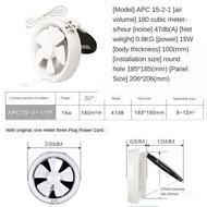 Exhaust fan Jin Ling exhaust fan, exhaust fan 6/8 inch glass case window kitchen fan toilet mute exhauster