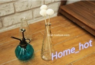 zakka grocery antique copper watering pumpkin glass bottle shower nozzle perfume bottle 5 color opti