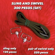 SLING AND SWIVEL FOR AIRGUN