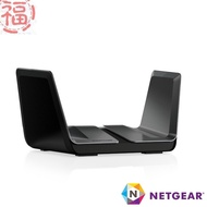 NETGEAR RAX80 夜鷹 AX6000 8串流 WiFi 6 智能無線寬頻分享器 路由器 【福利品】台灣公司貨