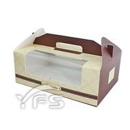 精緻手提盒-6格 (麵包紙盒/野餐盒/速食外帶盒/點心盒)【裕發興包裝】