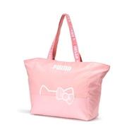 PUMA-女性PUMA x HELLO KITTY購物袋-銀光粉