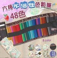 48色高級六角彩色鉛筆 彩繪筆 畫畫筆 色鉛筆 彩色筆 繪畫 製圖 色鉛筆 油性色鉛筆 水性 水性色鉛筆 鉛筆 自動筆 0042