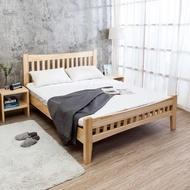 【BODEN】森林家具 里約5尺雙人實木床架(不含床墊)