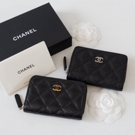 Chanel zippy coins wallet