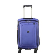 DELSEY Paris Delsey Luggage Cruise Lite Softside Carry-on Exp. Spinner Suiter Trolley, Blue