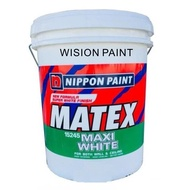 18L ( 18 LITER ) WHITE NIPPON PAINT MATEX WHITE
