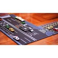 預購 1:64 小車專用日本馬路規格道路停車場滑鼠墊(自己設計,獨家發售)(400元)
