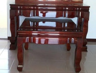 【南台灣傢俱】7尺馬來西亞檜木神桌.上下桌(不含強化玻璃)***市價$42000,特價$35000元