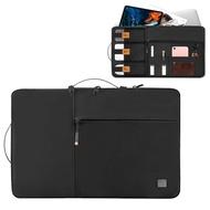 WIWU Alphaไนลอนคู่ชั้นกระเป๋าเดินทางกระเป๋าเก็บของสำหรับ14นิ้วแล็ปท็อป